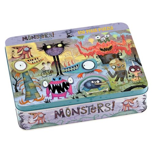 9780735324664: Monsters 100 Piece Puzzle Tin