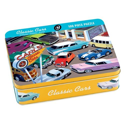9780735325692: Classic Cars 100 Piece Puzzle Tin