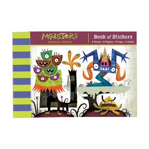 9780735327054: Monsters Book of Stickers