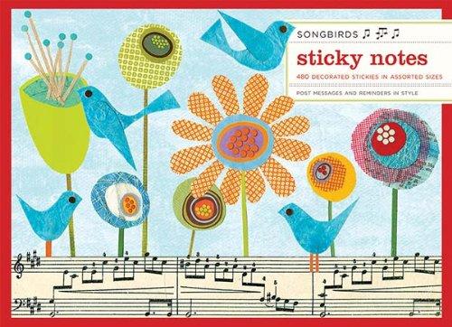 9780735327375: Songbirds Sticky Notes