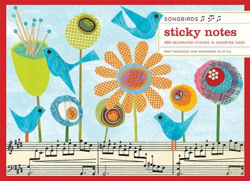 9780735327375: Songbirds Sticky Notes