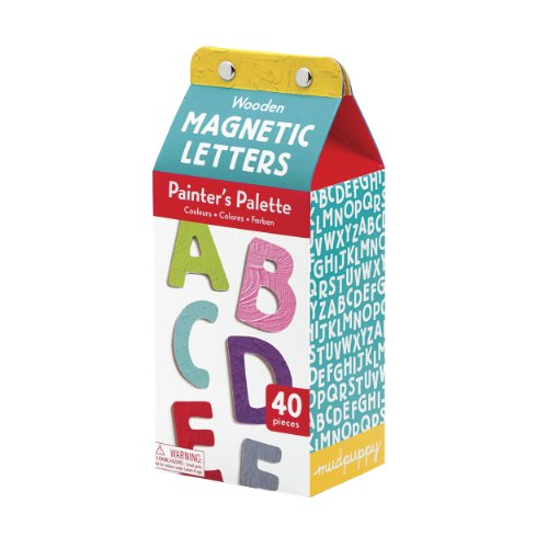 9780735327535: Painter's Palette Uppercase Wooden Magnetic Letters