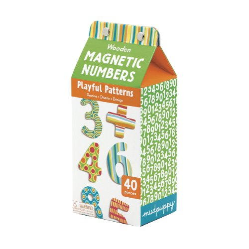 9780735327566: Playful Patterns Wooden Magnetic Numbers
