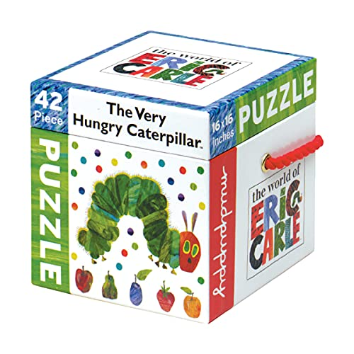 9780735327795: Eric Carle Caterpillar 42 Piece Puzzle (The World of Eric Carle)