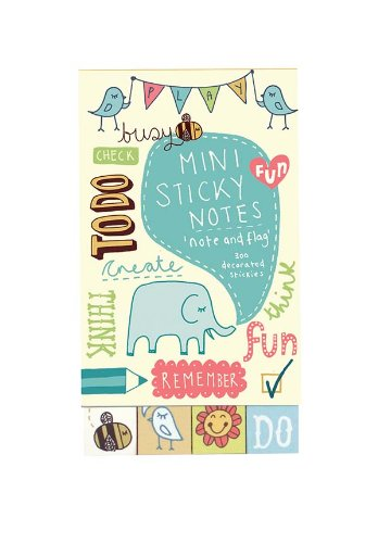 9780735328419: Kate Sutton Note and Flag Mini Sticky Notes