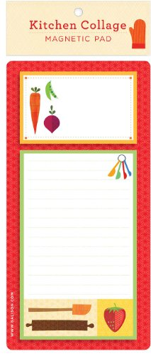 9780735328532: Kitchen Collage Magnetic Pad