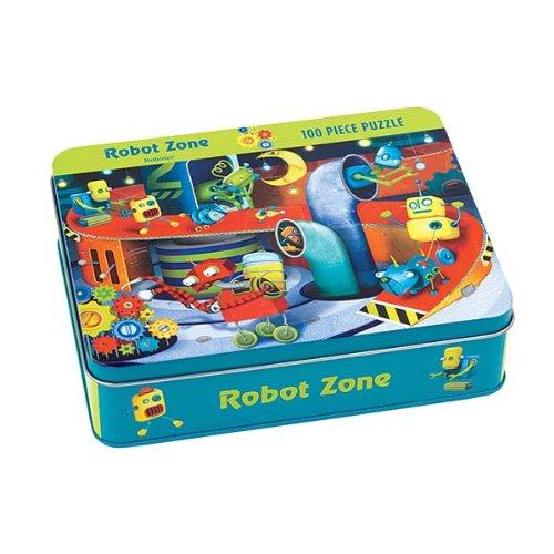 9780735328679: Robot Zone 100 Piece Puzzle Tin