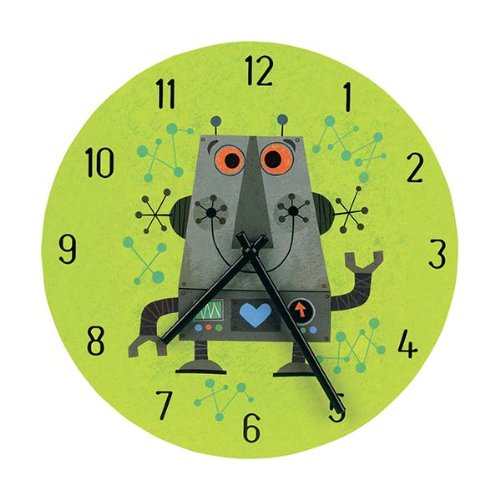 9780735328877: Robot Wall Clock