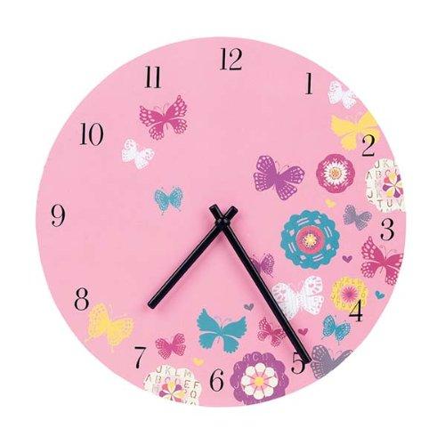 9780735328891: Butterflies Wall Clock