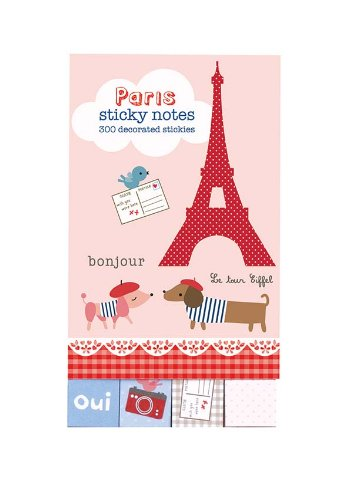 9780735329157: Paris Mini Sticky Notes