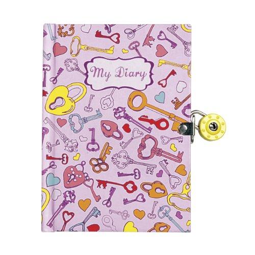 9780735329652: Keys Locked Diary [With Key]