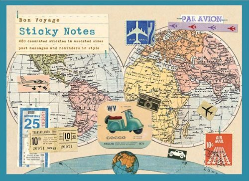 9780735329843: Bon Voyage Sticky Notes