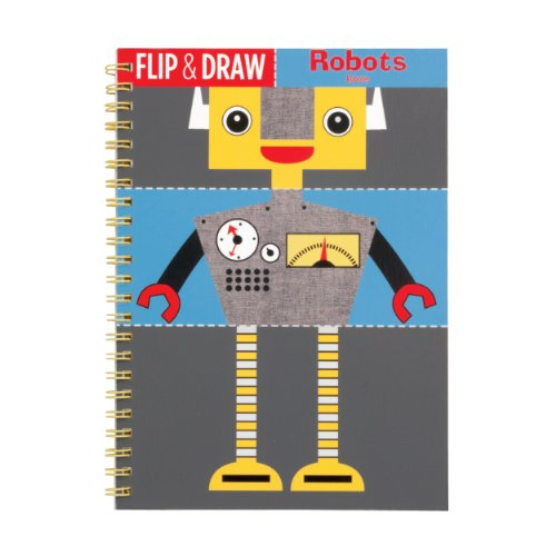 9780735329942: Robots Flip and Draw (Flip & Draw)