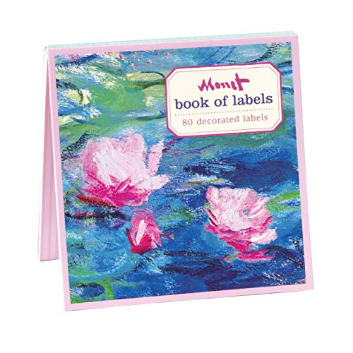 9780735330368: Monet Waterlilies Book of Labels