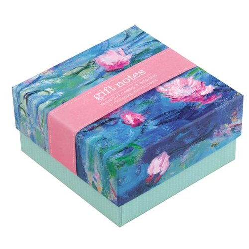 9780735330719: Monet Waterlilies Gift Notes