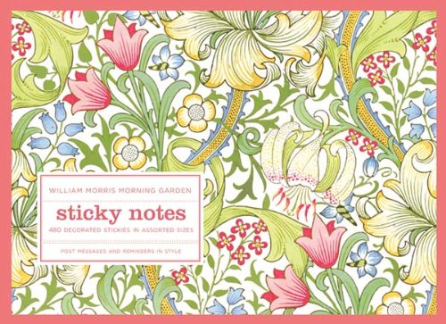 9780735330801: William Morris Morning Garden Sticky Notes