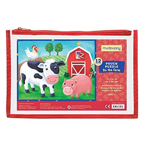 9780735330979: On the Farm 12 Piece Puzzle