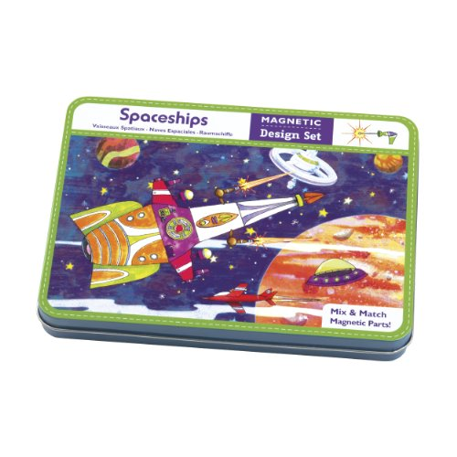 9780735331310: Mudpuppy Spaceships Magnetic Build-its