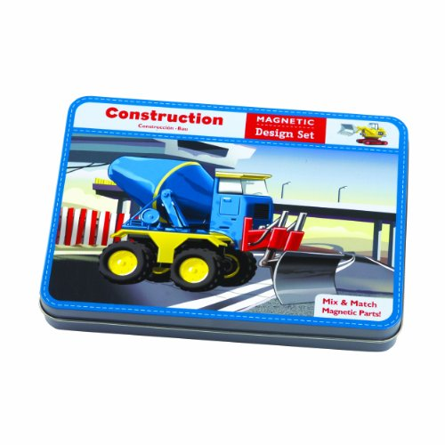 9780735331327: Construction Magnetic Design Set