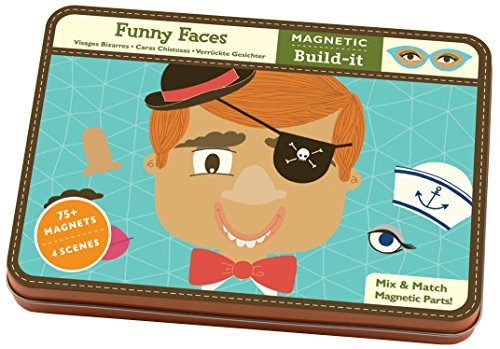 9780735331341: Funny Faces Magnetic Build-Its