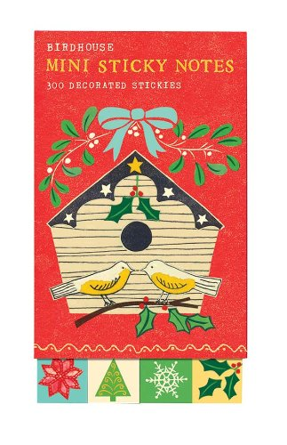 9780735331815: Birdhouse Mini Sticky Notes: 300 Decorated Stickers