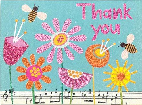 9780735332188: Bumblebee Garden Glitz Thank You Notes