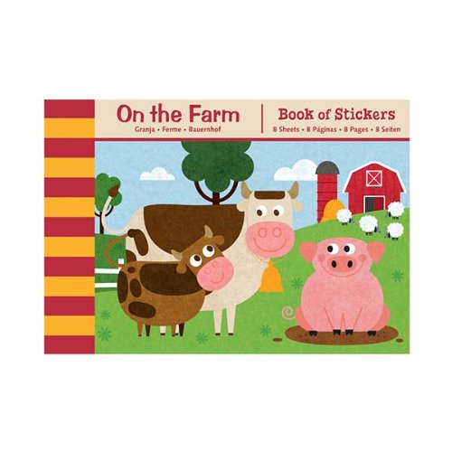 9780735332287: On the Farm Book of Stickers