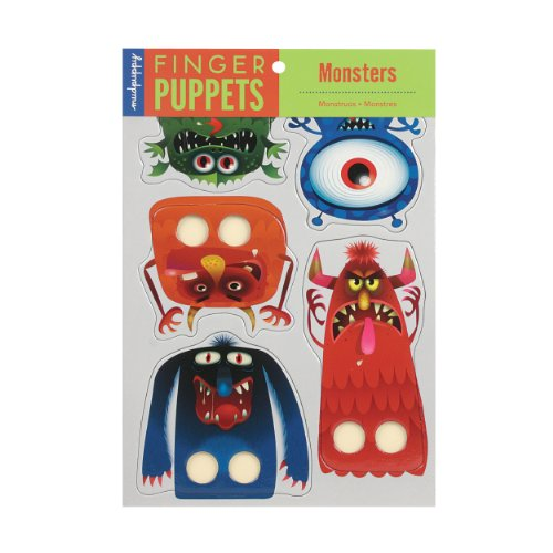 9780735332294: Monsters Finger Puppets