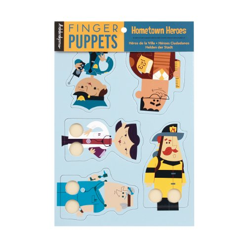 9780735332300: Hometown Heroes Finger Puppets