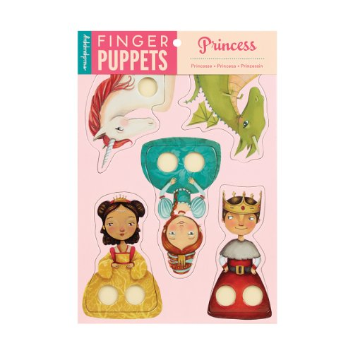 9780735332324: Princess Finger Puppets