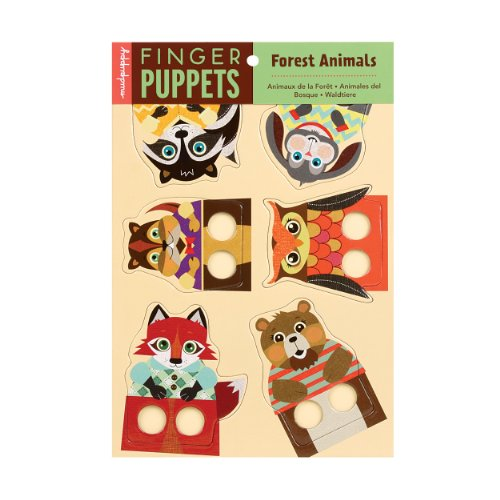 9780735332331: Forest Animals Finger Puppets
