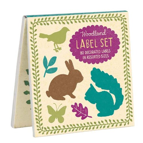 9780735332607: Woodland Book of Labels