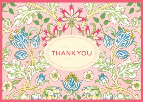 9780735332614: William Morris Thank You Notes