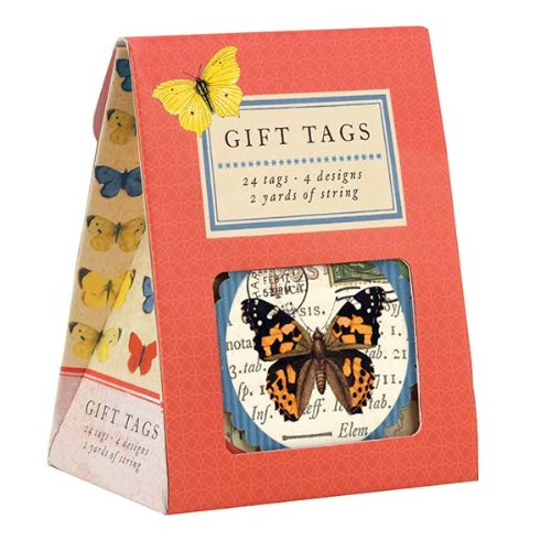 9780735332768: Natural History Butterflies Gift Tags