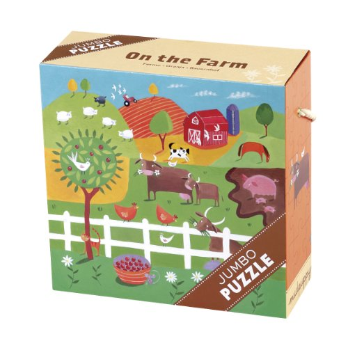 9780735333079: On the Farm Jumbo Puzzle