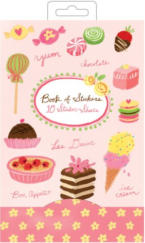9780735333352: Desserts Book of Stickers