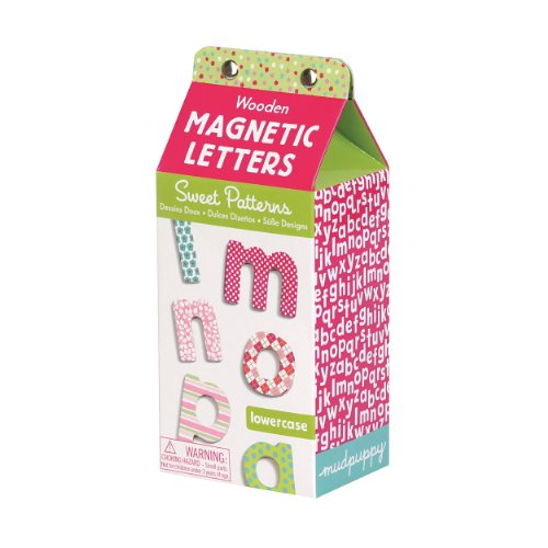 9780735333475: Sweet Patterns Lowercase Wooden Magnetic Letters