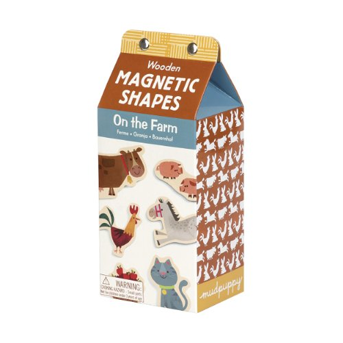 9780735333482: On the Farm Wooden Magnetic Shapes