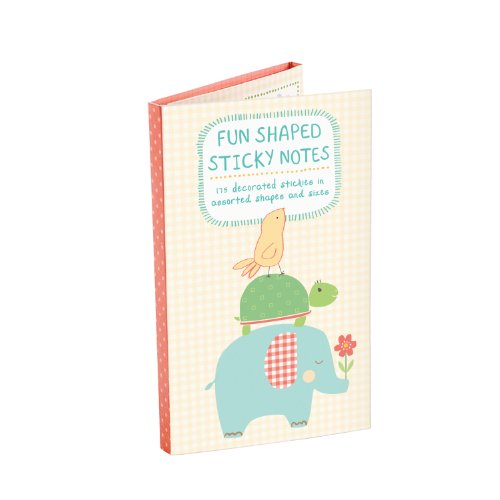 9780735333666: Fun Shaped Sticky Notes. Playful Animals