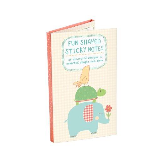 9780735333666: Playful Animals Shaped Sticky Notes