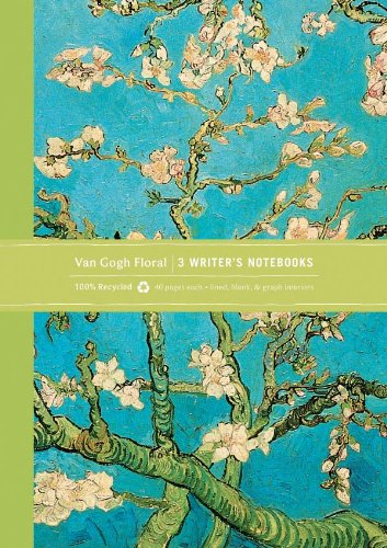 Van Gogh Floral Eco Writer's Notebook