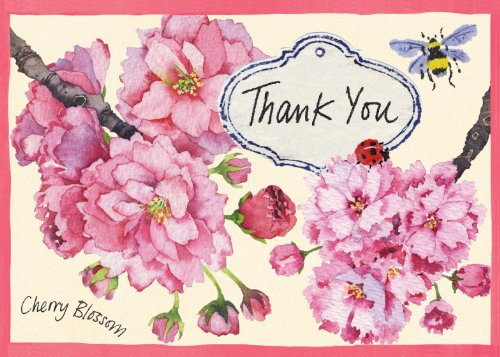 9780735333963: Cherry Blossom Garden Parcel Thank You Notes