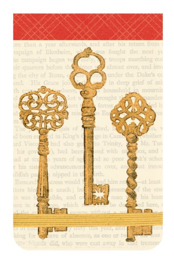 9780735334120: Vintage Keys Mini Journal