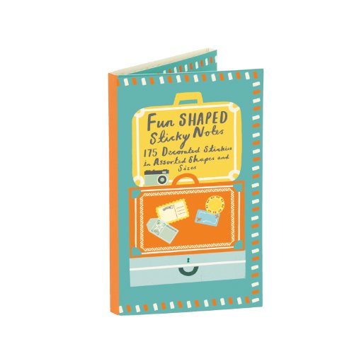 9780735334137: Travel Shaped Sticky Notes