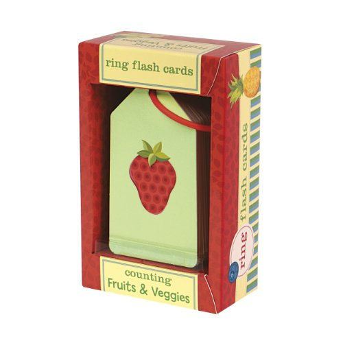 9780735334182: Counting Fruits & Veggies Ring Flash Cards