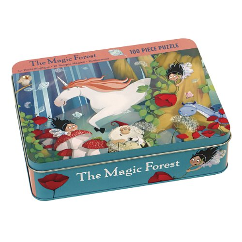 9780735334335: The Magic Forest 100 Piece Puzzle Tin