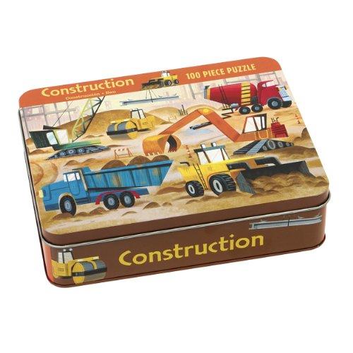 9780735334342: Construction 100 Piece Puzzle Tin