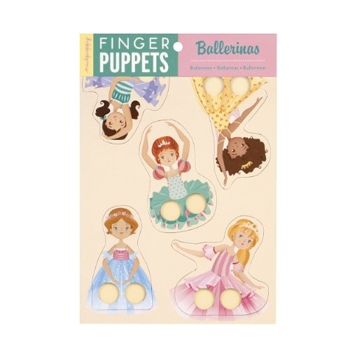 9780735334373: Ballerinas Finger Puppets