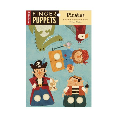9780735334380: Pirates Finger Puppets