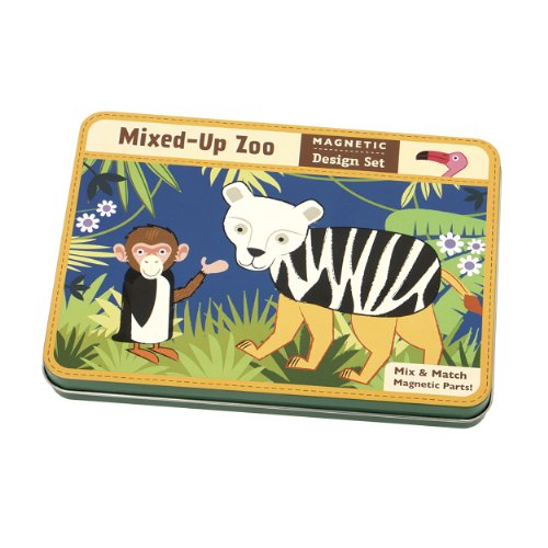 9780735334465: Mixed-Up Zoo Magnetic Design Set